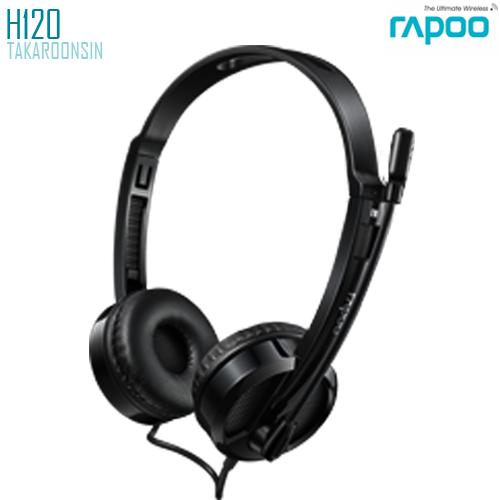 หูฟัง Rapoo H120 Wired Stereo Headset & USB