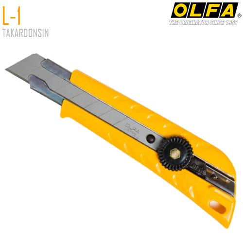 มีดคัตเตอร์ขนาดใหญ่ OLFA L-1 (18mm) Heavy-Duty Models
