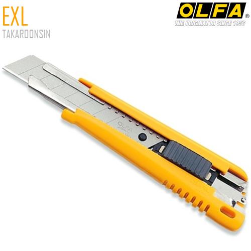 มีดคัตเตอร์ขนาดใหญ่ OLFA EXL (18mm) Heavy-Duty Models