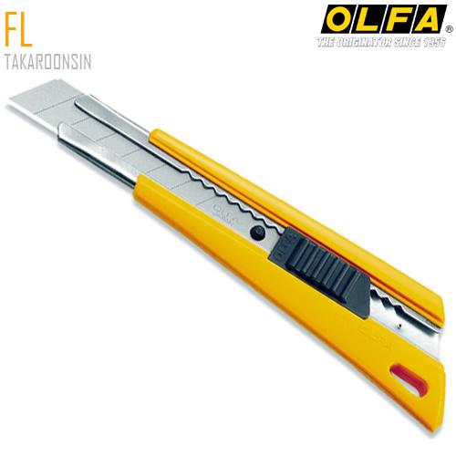 มีดคัตเตอร์ขนาดใหญ่ OLFA FL (18mm) Heavy-Duty Models