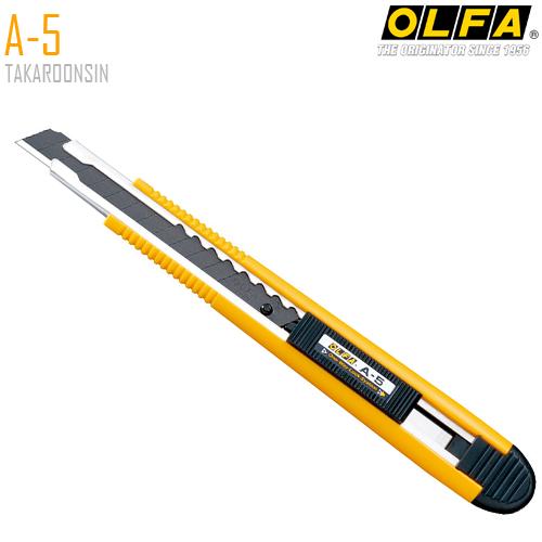 มีดคัตเตอร์ขนาดเล็ก OLFA A-5 (9mm)
