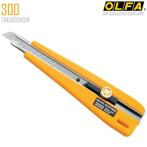 มีดคัตเตอร์ขนาดเล็ก OLFA 300 (9mm)