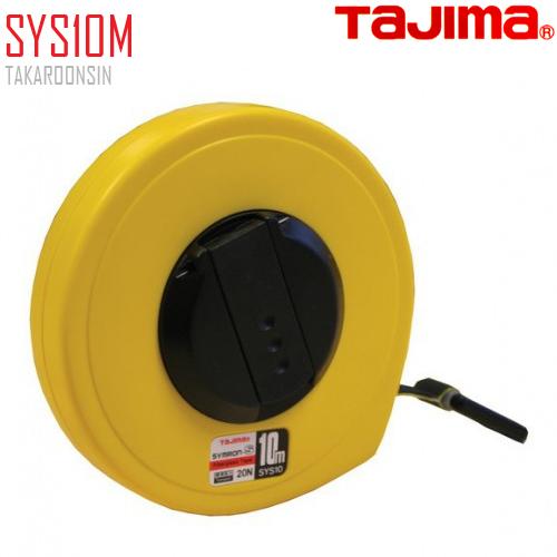 ตลับเทปวัดที่ เนื้อเทปใยแก้ว SYS10M Tajima