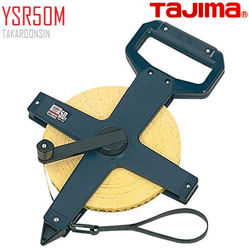 ตลับเทปวัดที่ เนื้อเทปใยแก้ว YSR50M Tajima