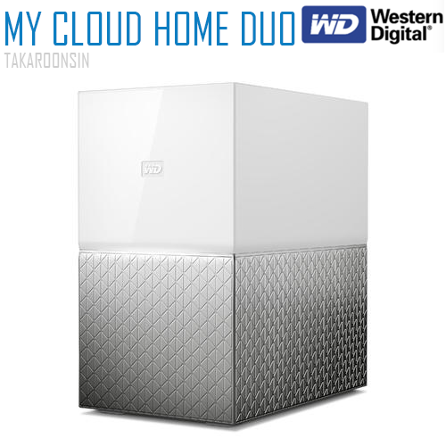 WD Harddisk My Cloud™ Home Duo 12TB