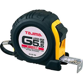 ตลับเมตร TAJIMA G-LOCK GL22-55BL ยาว 5.5 เมตร