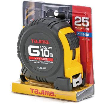 ตลับเมตร TAJIMA G-LOCK GL25-100BL ยาว 5.5 เมตร