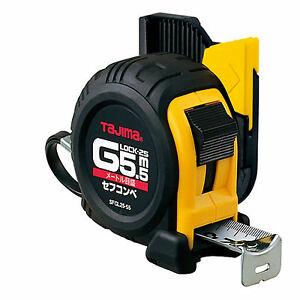 ตลับเมตร TAJIMA G-LOCK SFGL25-55BL ยาว 5.5 เมตร