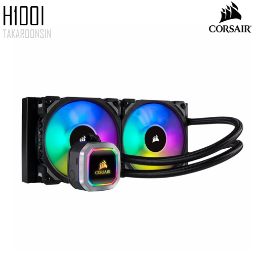 Corsair Hydro Series H100i RGB Liquid CPU Cooler