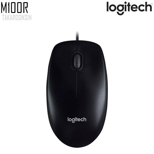เมาส์ Logitech MOUSE M100R