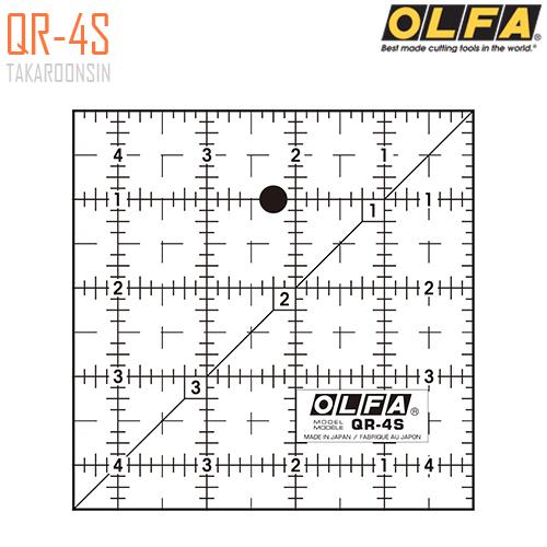 ไม้บรรทัดสเกล OLFA QR-4S