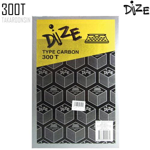 กระดาษคาร์บอน ชนิดพิมพ์ ดำ 300T Dize