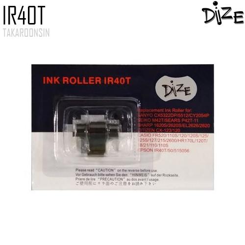 อิ้งค์โรลเลอร์ IR40T ดำ/แดง DIZE