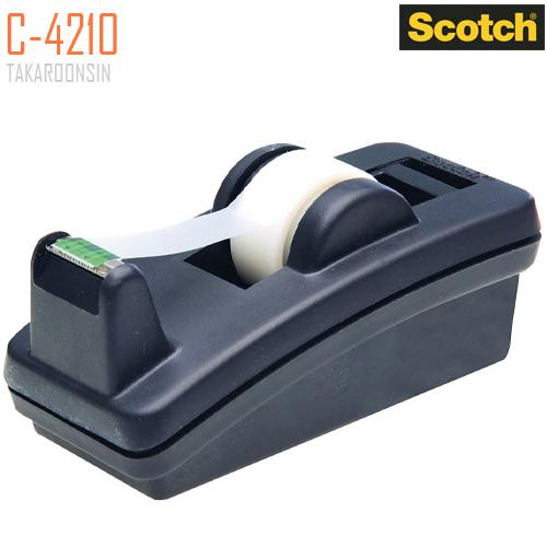 แท่นตัดเทปใส แกน 1 นิ้ว C-4210 SCOTCH