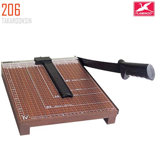 แท่นตัดกระดาษฐานไม้ A5 (8x7 นิ้ว) 206 Flamingo