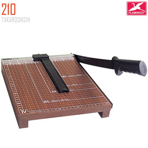 แท่นตัดกระดาษฐานไม้ A4 (12x10 นิ้ว) 210 Flamingo