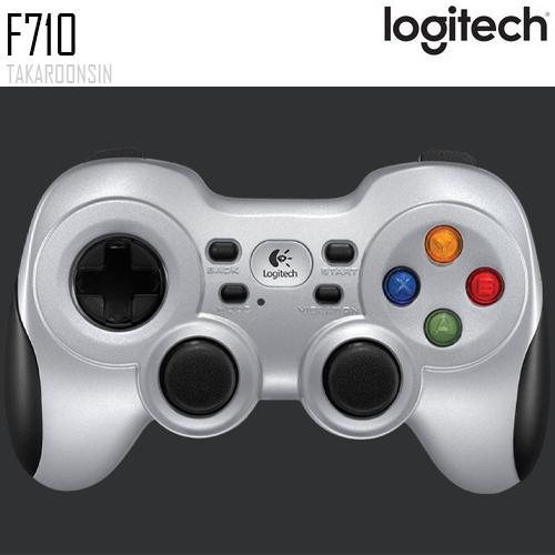 เกมแพดไร้สาย Logitech F710 Wireless Gamepad