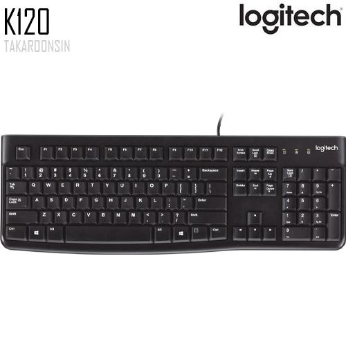 คีย์บอร์ด Logitech K120