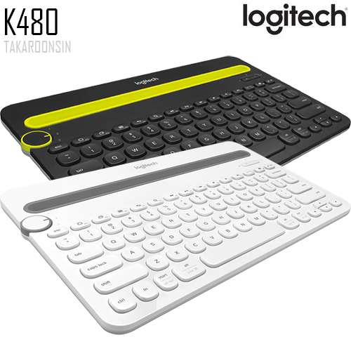 คีย์บอร์ด Logitech K480 BLUETOOTH MULTI-DEVICE KEYBOARD