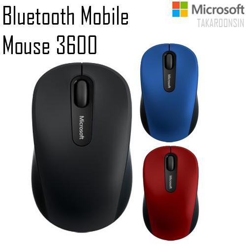 เมาส์ Microsoft รุ่น Bluetooth Mobile Mouse 3600