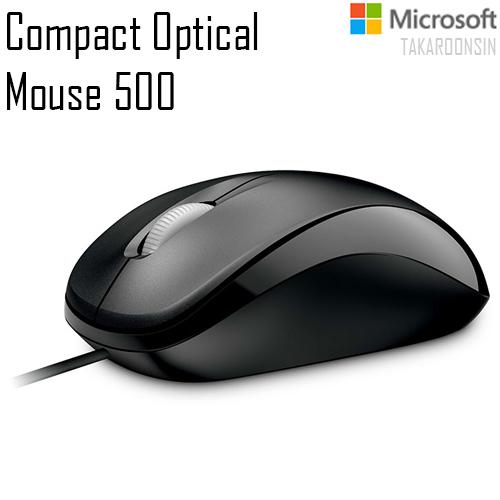 เมาส์ Microsoft รุ่น Compact Optical Mouse