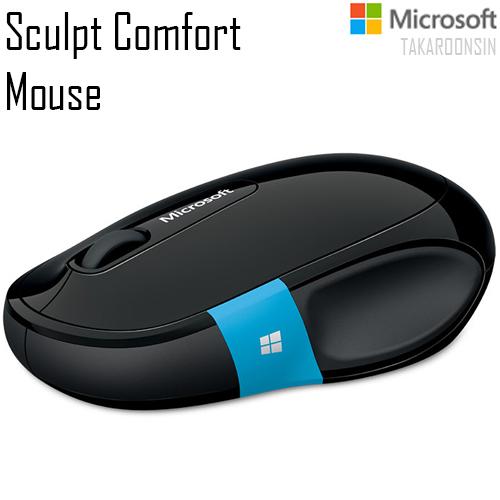 เมาส์ Microsoft รุ่น Sculpt Comfort Mouse