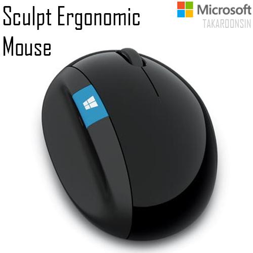 เมาส์ Microsoft รุ่น Sculpt Ergonomic Mouse