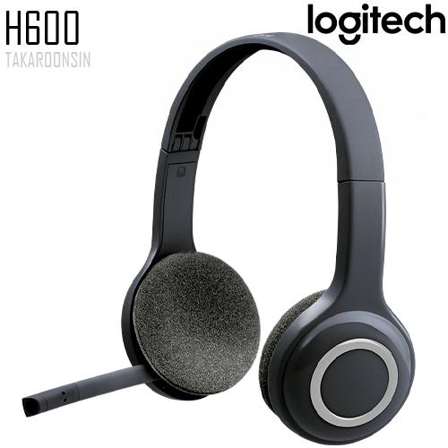 หูฟังไร้สาย Logitech H600 WIRELESS HEADSET