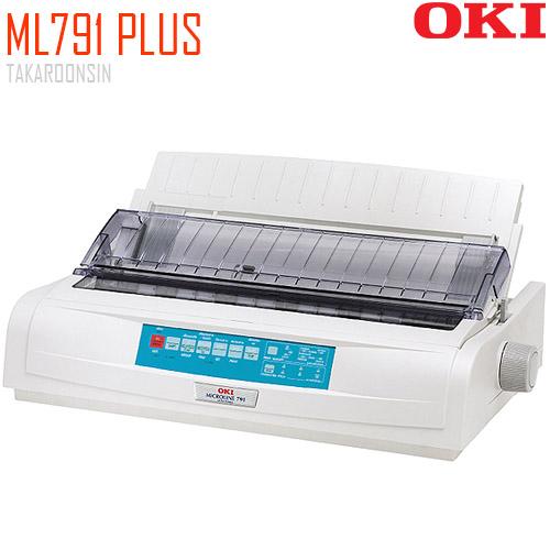 เครื่องพิมพ์ Dot Matrix OKI ML791 PLUS (แคร่ยาว)