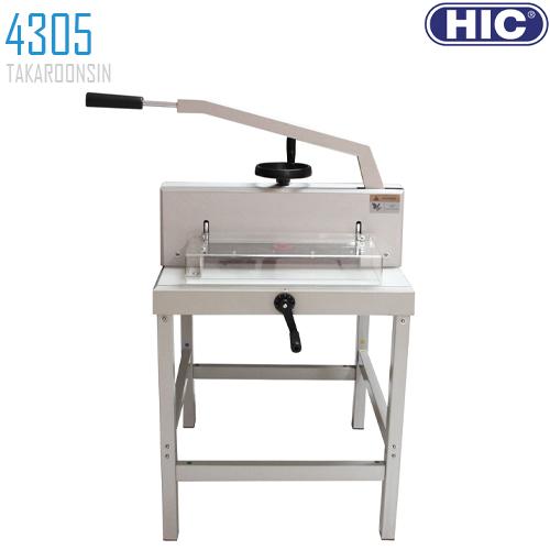 แท่นตัดกระดาษ HIC 4305 Manual ขนาด A3
