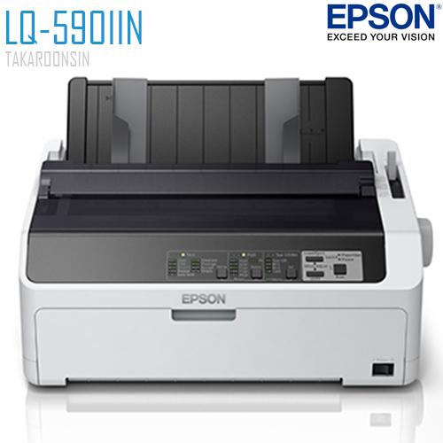 เครื่องพิมพ์ Dot Matrix EPSON LQ-590IIN (แคร่สั้น)