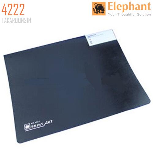แฟ้มคอมพิวเตอร์ 15x11 นิ้ว ตราช้าง 4222 (สีดำ)