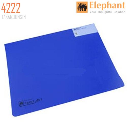 แฟ้มคอมพิวเตอร์ 15x11 นิ้ว ตราช้าง 4222 (สีน้ำเงิน)