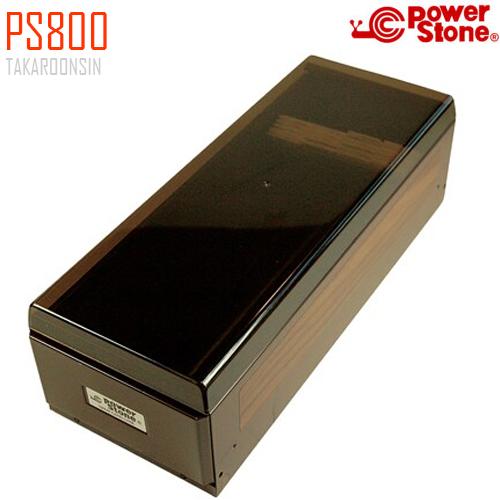 กล่องใส่นามบัตร แบบโลหะ POWER STONE PS800 (800 ชื่อ)