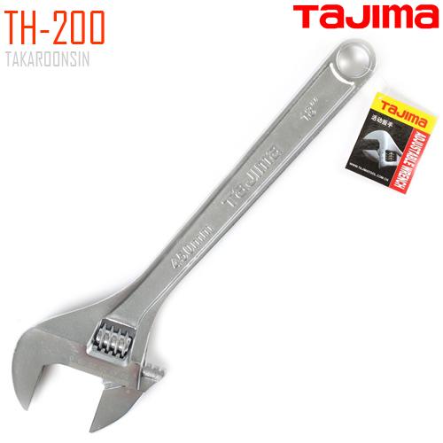 กุญแจเลื่อน ขนาด 8 นิ้ว TAJIMA TH-200