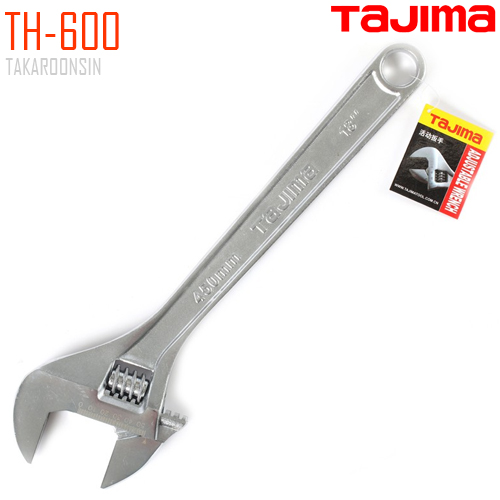 กุญแจเลื่อน ขนาด 24 นิ้ว TAJIMA TH-600