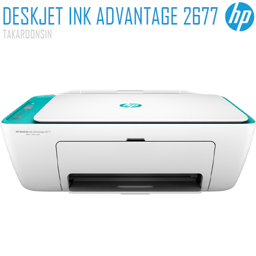 เครื่องพิมพ์ HP DeskJet Ink Advantage 2677 All-in-One Printer (Y5Z04B)