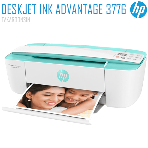 เครื่องพิมพ์ HP DeskJet Ink Advantage 3776 All-in-One Printer (7FM65B)