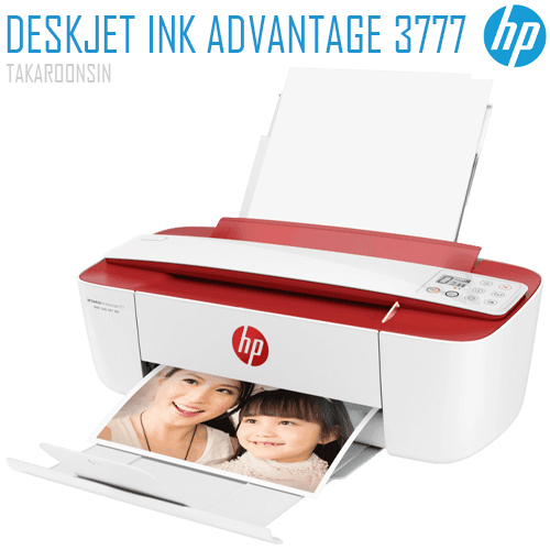 เครื่องพิมพ์ HP DeskJet Ink Advantage 3777 All-in-One Printer (7FM66B)