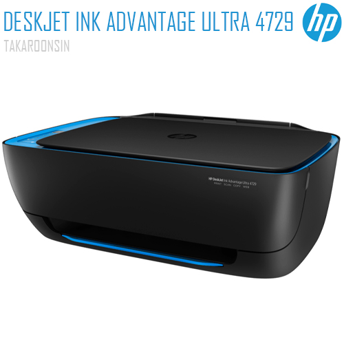 เครื่องพิมพ์ HP DeskJet Ink Advantage Ultra 4729 All-in-One Printer (F5S66A)
