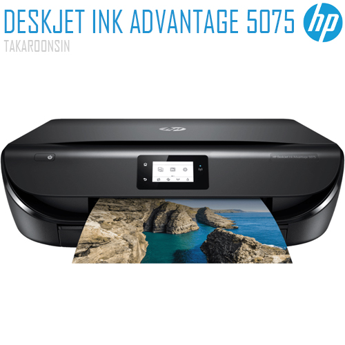 เครื่องพิมพ์ HP DeskJet Ink Advantage 5075 All-in-One Printer (M2U86B)