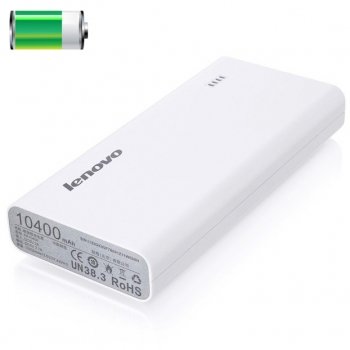 Lenovo Power bank PA10400 White  LNV-GXV0H21829