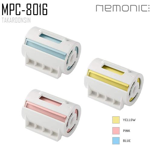 กระดาษโน๊ตสำหรับเครื่องพิมพ์ NEMONIC MPC-8016 B,P,G 80mm.x16m.