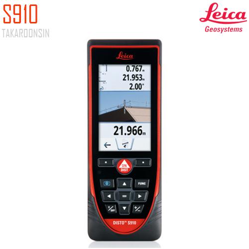 เครื่องวัดระยะดิจิตอล Leica Geosystems Disto S910