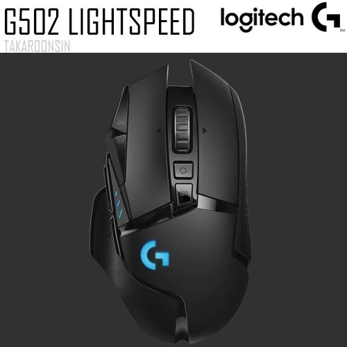 เมาส์เกมมิ่ง ไร้สาย LOGITECH G502 LIGHTSPEED WIRELESS GAMING MOUSE