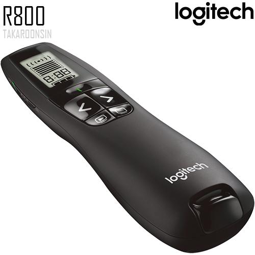 เลเซอร์พอยเตอร์ LOGITECH R800 แสงสีเขียว