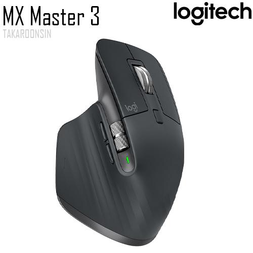 เมาส์ไร้สาย LOGITECH MX MASTER 3 (BLACK)