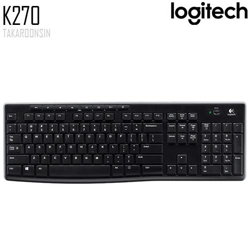 คีย์บอร์ด Logitech K270 WIRELESS KEYBOARD
