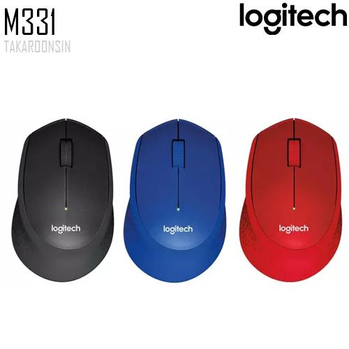 เมาส์ Logitech M331 SILENT PLUS