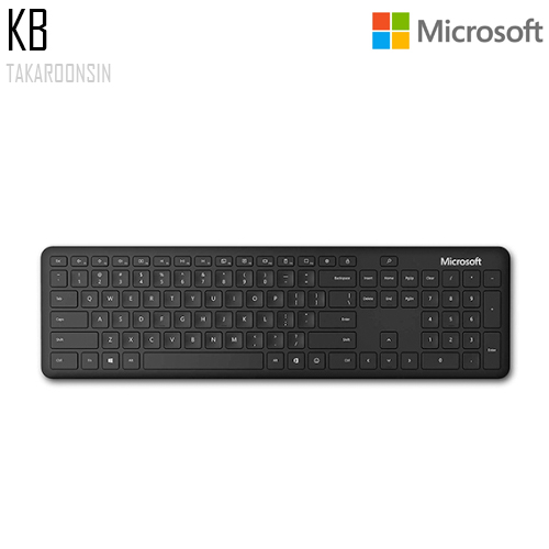 คีย์บอร์ด Microsoft Bluetooth Keyboard